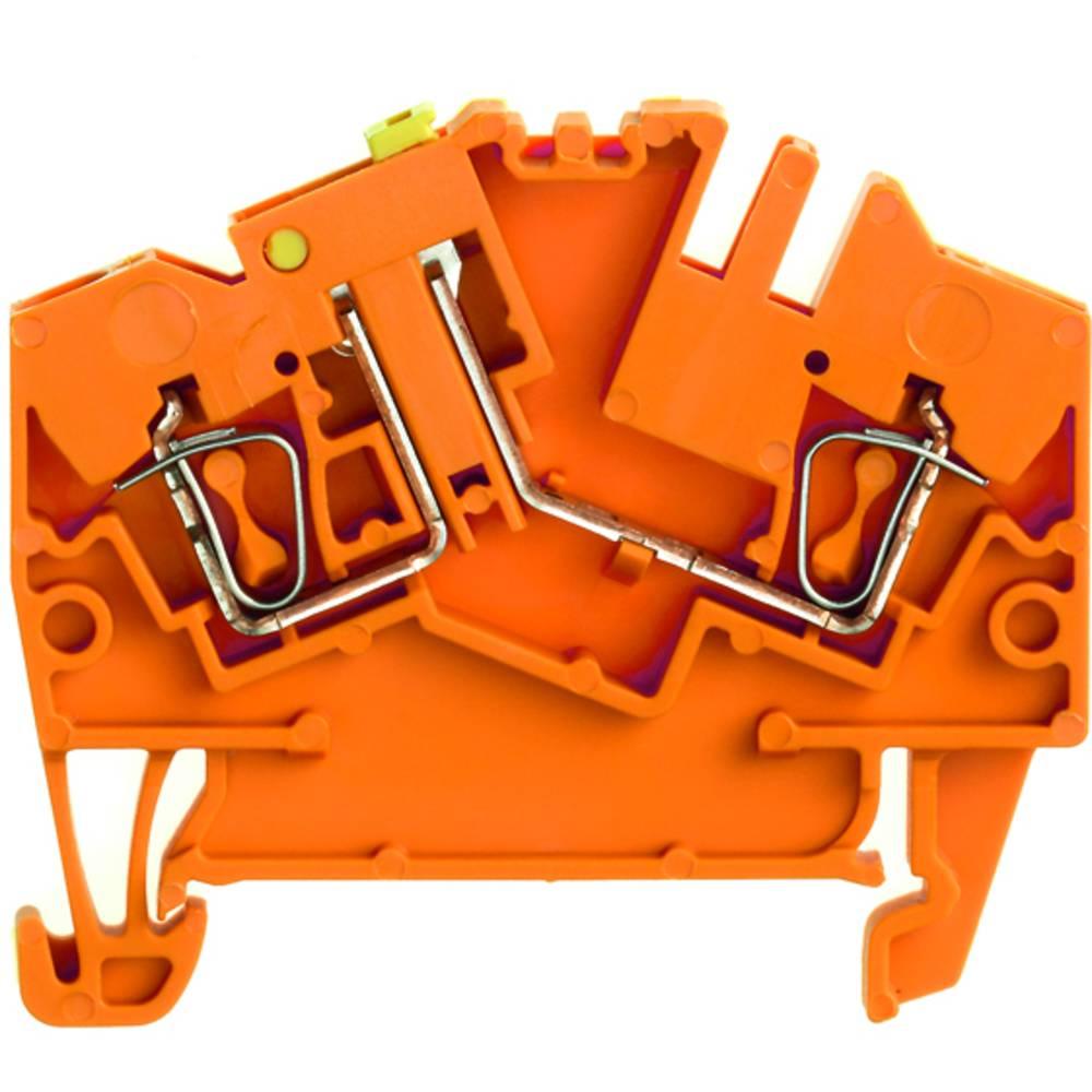 Test-afbryde terminal Weidmüller ZTR 2.5-2 OR 1779130000 Orange 100 stk