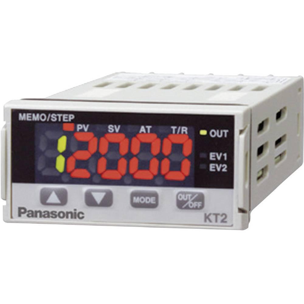 Termostat Panasonic AKT2212200 K, J, R, S, B, E, T, N, PL-II, C, Pt100, Pt100 -200 do +1820 °C SSR (D x Š x V) 98.5 x 24 x 48 mm