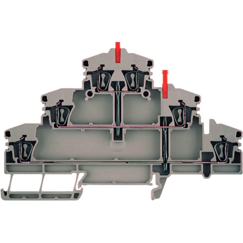 Multi-tier modulopbygget terminal Weidmüller ZDLD 2.5-2VN 1782320000 25 stk