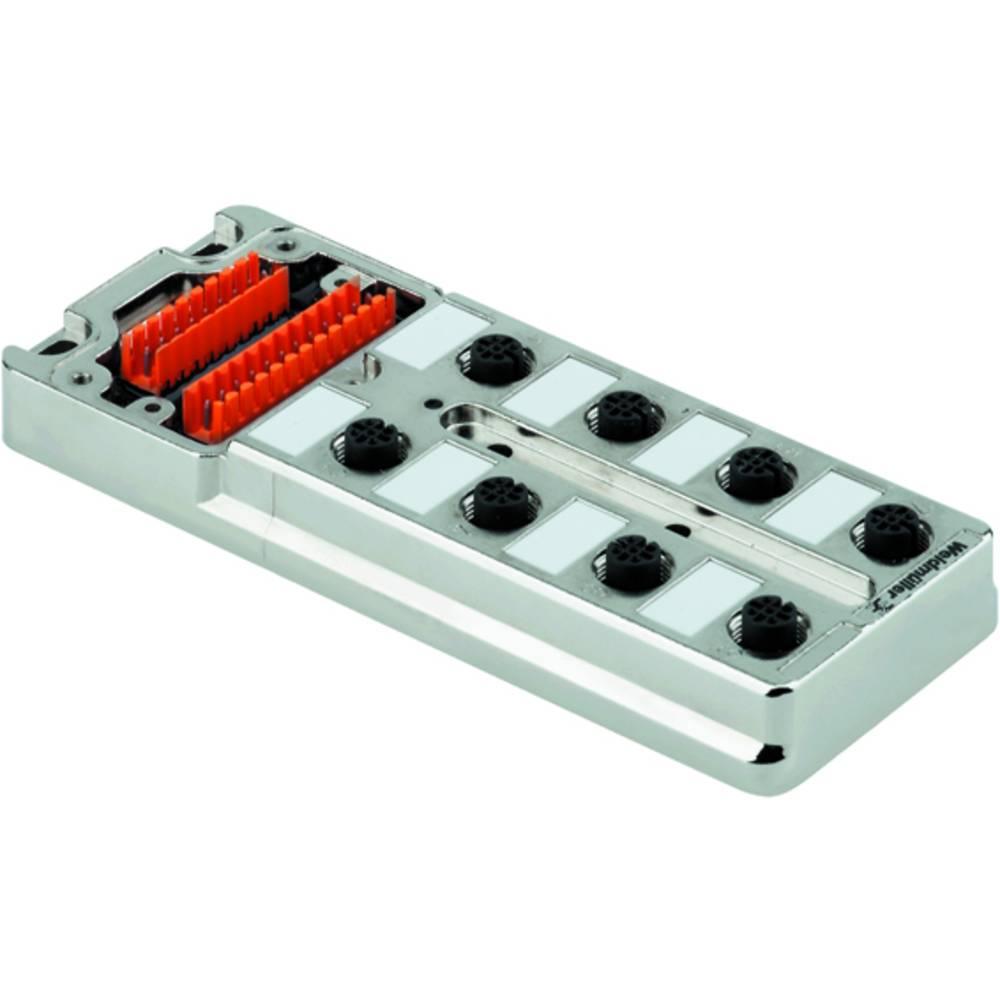 Razdelilnik za pasivne senzorje in aktuatorje SAI-8-MM 5P M12 UT Weidmüller vsebuje: 2 kosa