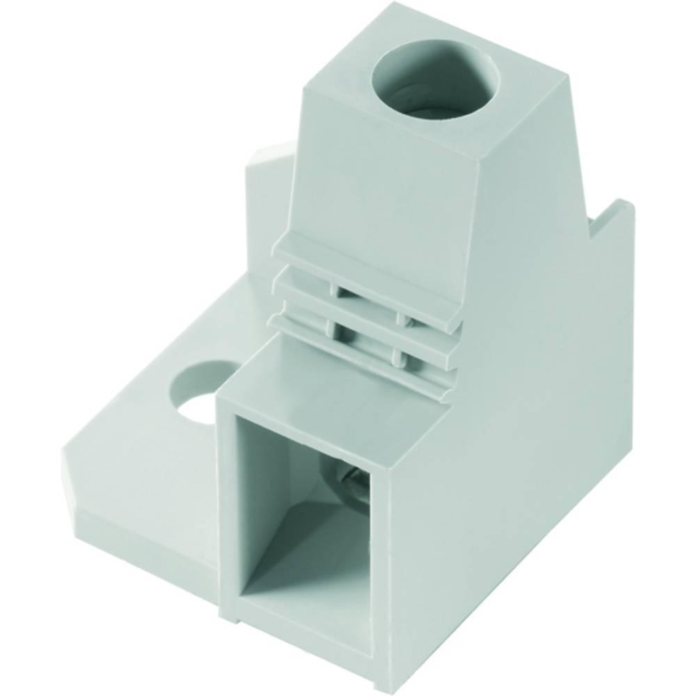 Skrueklemmeblok Weidmüller LXBL 5.00/01/90 4.5SN GY BX 25.00 mm² Poltal 1 Grå 20 stk