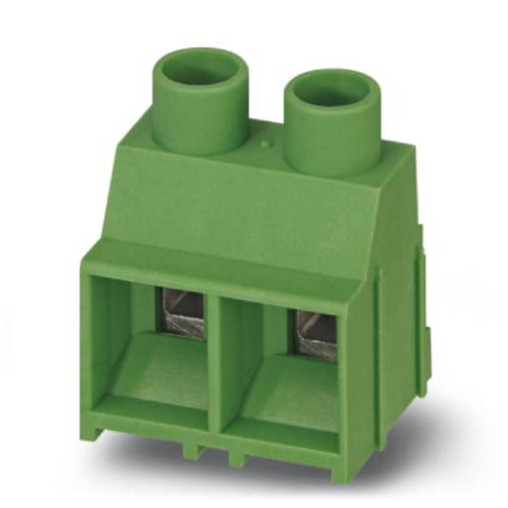 Skrueklemmeblok Phoenix Contact MKDS 5/ 2-6,35 BK Z1L TS 4.00 mm² Poltal 2 Sort 50 stk