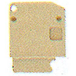 Končna plošča AP DLD2.5/PE DB Weidmüller vsebuje: 20 kosov