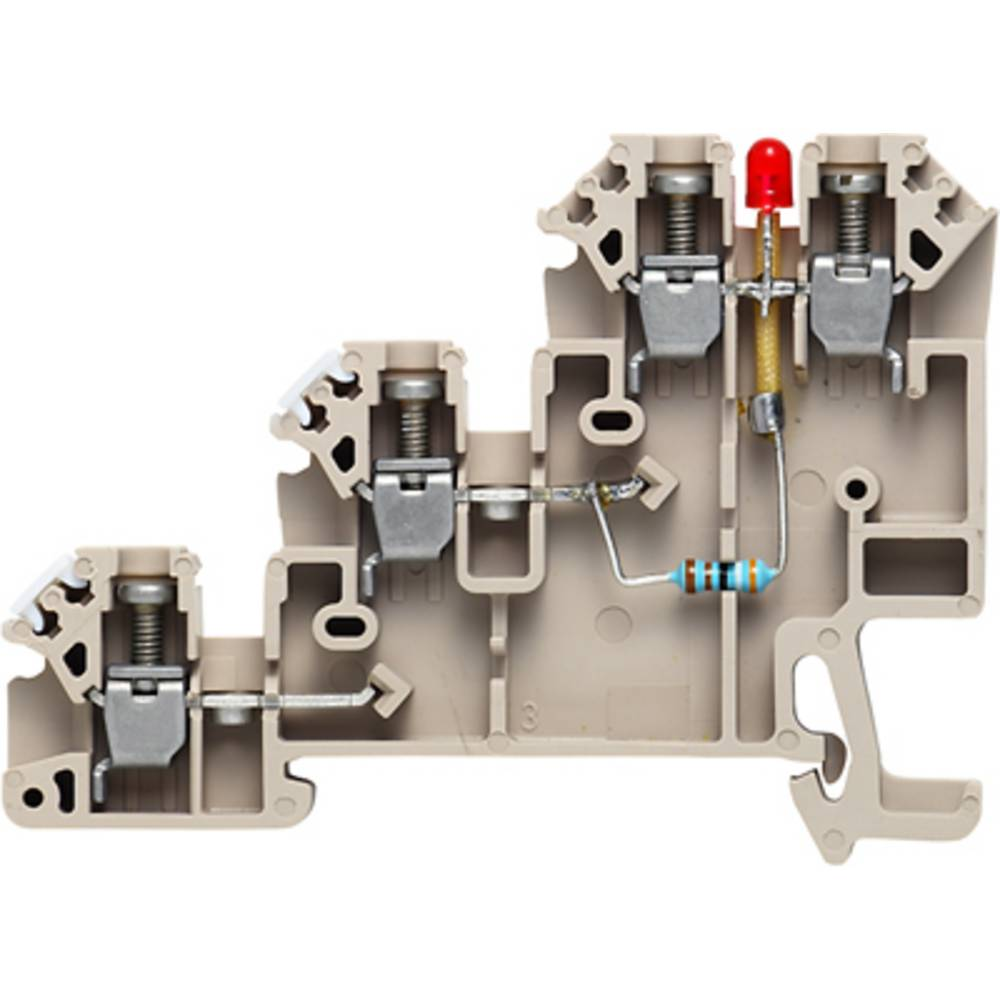 Initiativtager aktuator terminal Weidmüller DLI 2.5/LD-RT/NPN -+ DB 1783950000 100 stk