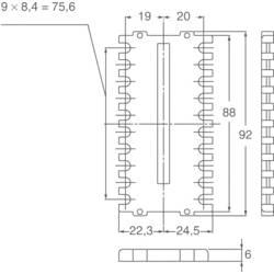 Panasonic zaščitni pokrovček za zadnjo stran primeren za Panasonic termostat KT8 AKT8801