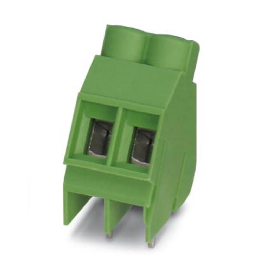 Skrueklemmeblok Phoenix Contact SMKDS 5/ 2-6,35 4.00 mm² Poltal 2 Grøn 50 stk
