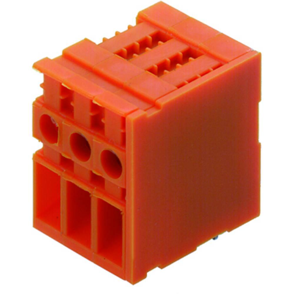 Skrueklemmeblok Weidmüller TOP4GS11/90 6.35 OR 4.00 mm² Poltal 11 Orange 50 stk