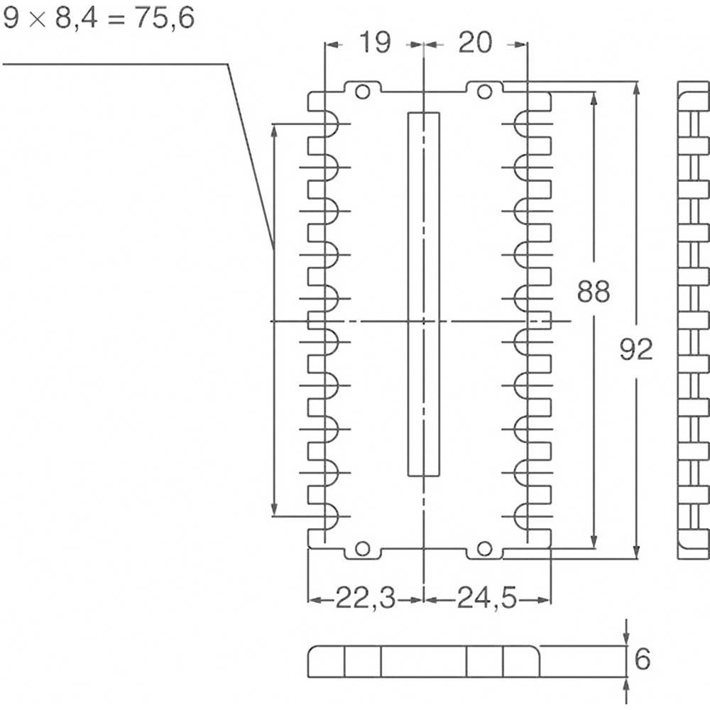 Panasonic zaščitni pokrovček za zadnjo stran primeren za Panasonic termostat KT9 AKT9801J