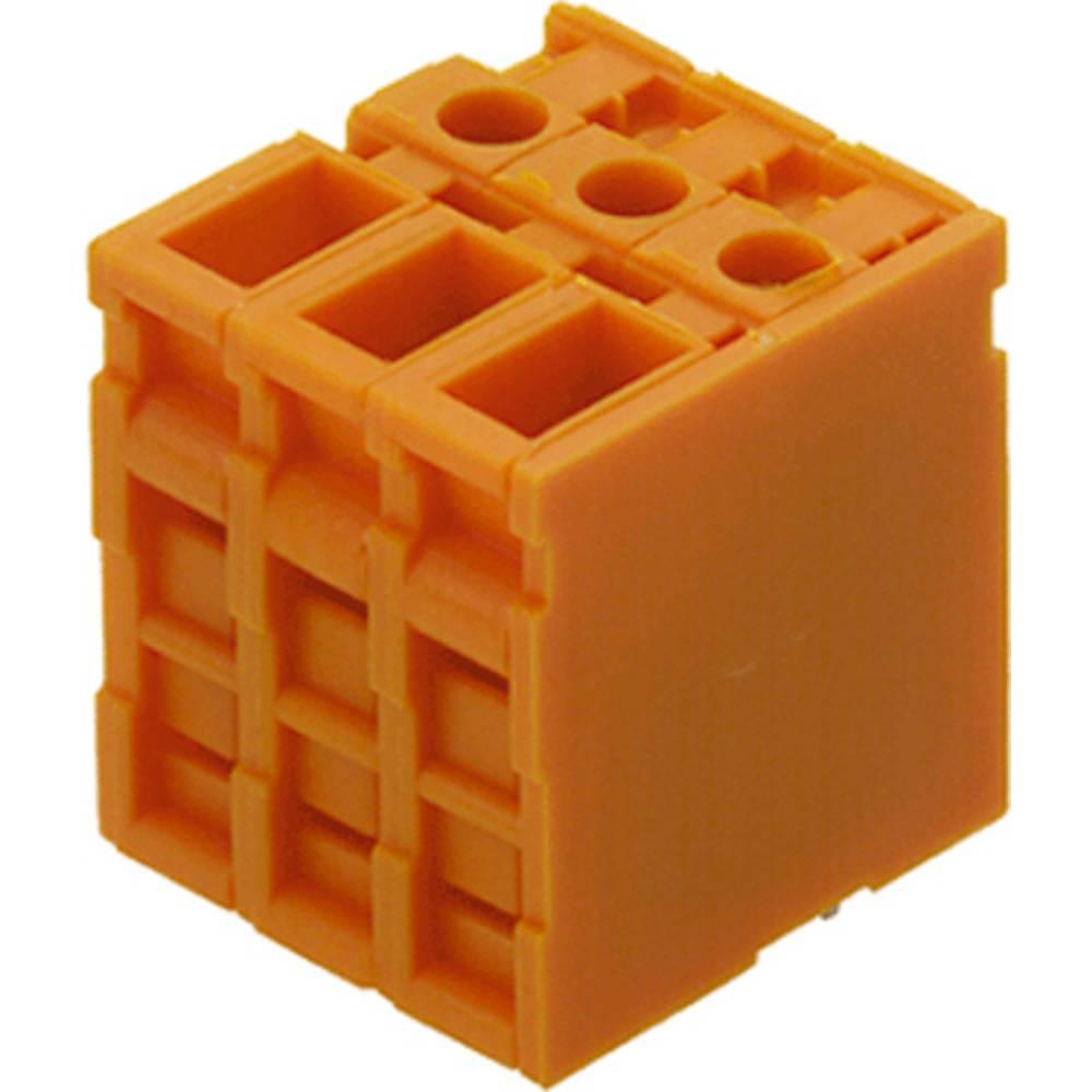 Skrueklemmeblok Weidmüller TOP4GS10/180 6.35 OR 4.00 mm² Poltal 10 Orange 50 stk