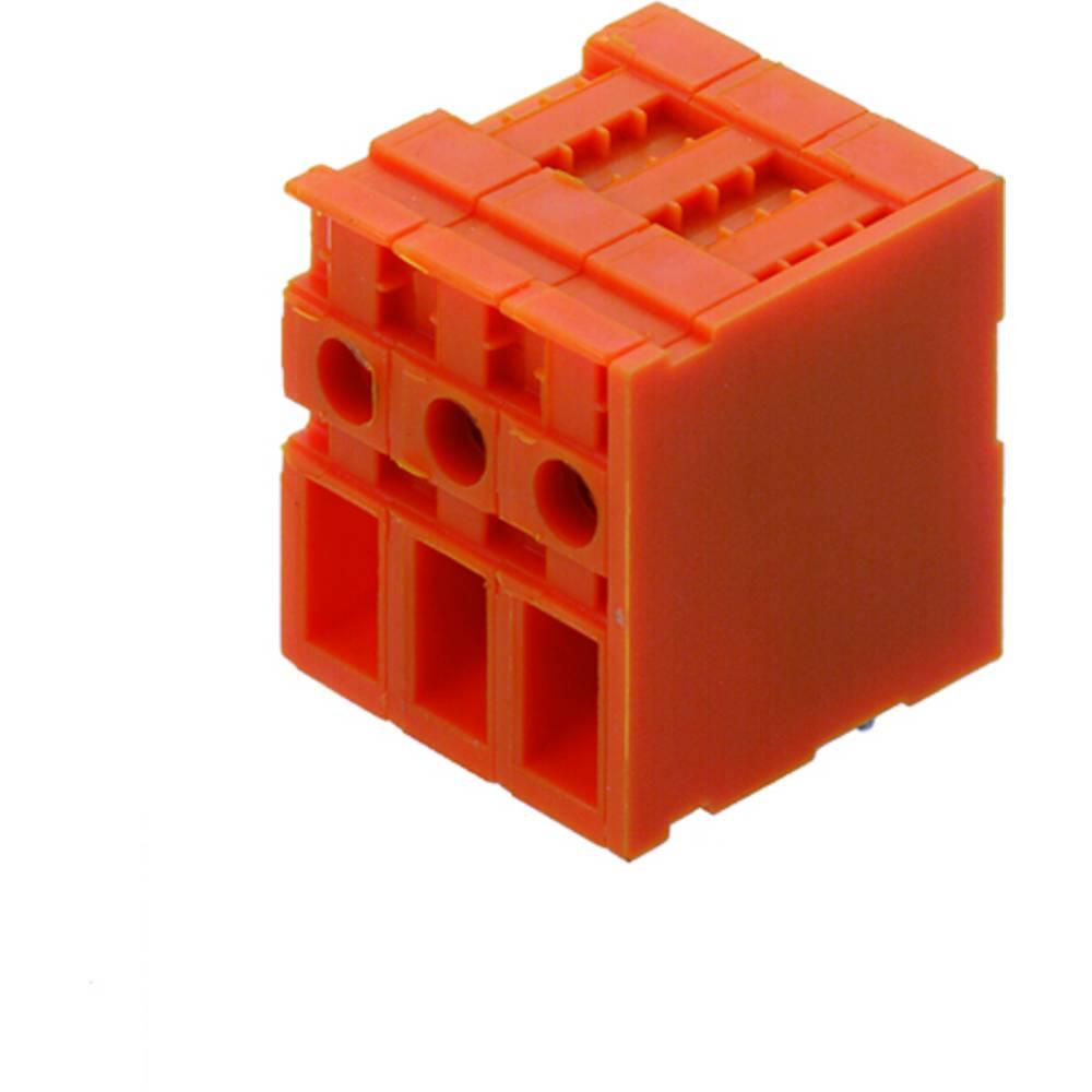Skrueklemmeblok Weidmüller TOP4GS6/90 7.62 OR 4.00 mm² Poltal 6 Orange 50 stk