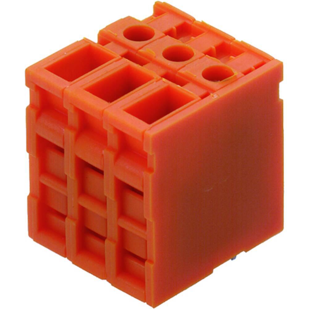 Skrueklemmeblok Weidmüller TOP4GS5/180 7.62 OR 4.00 mm² Poltal 5 Orange 50 stk