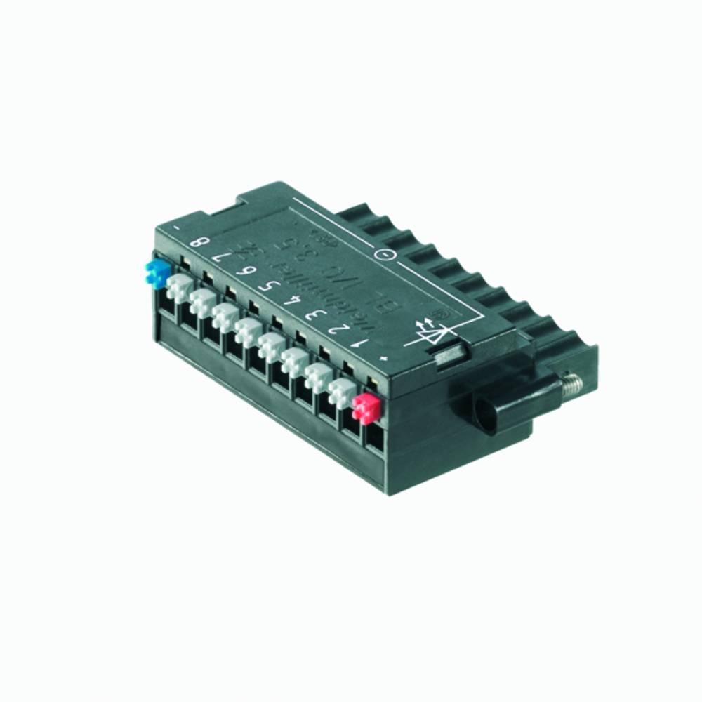 Vtični konektor za tiskana vezja Weidmüller 1789080000 vsebuje: 20 kosov