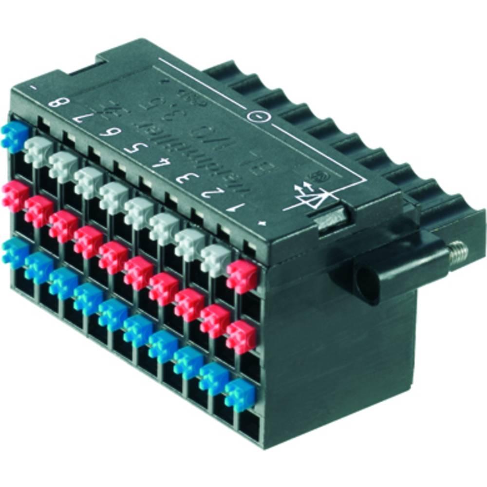 Vtični konektor za tiskana vezja Weidmüller 1789100000 vsebuje: 20 kosov