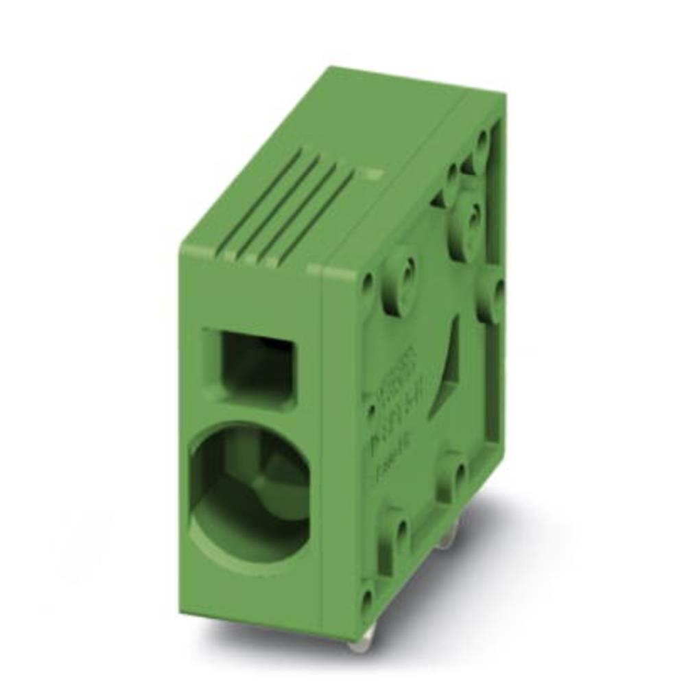 Fjederkraftsklemmeblok Phoenix Contact SPT 5/ 1-H-7,5 6.00 mm² Poltal 1 Grøn 50 stk