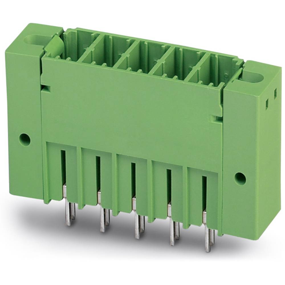 Stiftkabinet-printplade PCV (value.1361051) Samlet antal poler 2 Phoenix Contact 1720903 Rastermål: 7.62 mm 50 stk