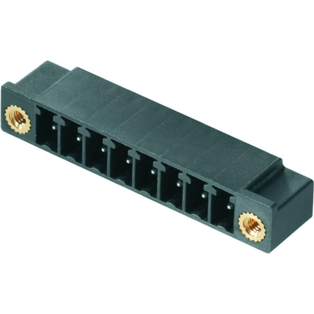 Vtični konektor za tiskana vezja zelene barve Weidmüller 1793480000 vsebuje: 50 kosov