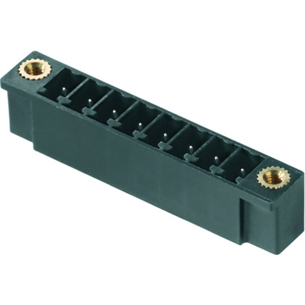 Vtični konektor za tiskana vezja zelene barve Weidmüller 1 793 800 000 vsebuje: 50 kosov