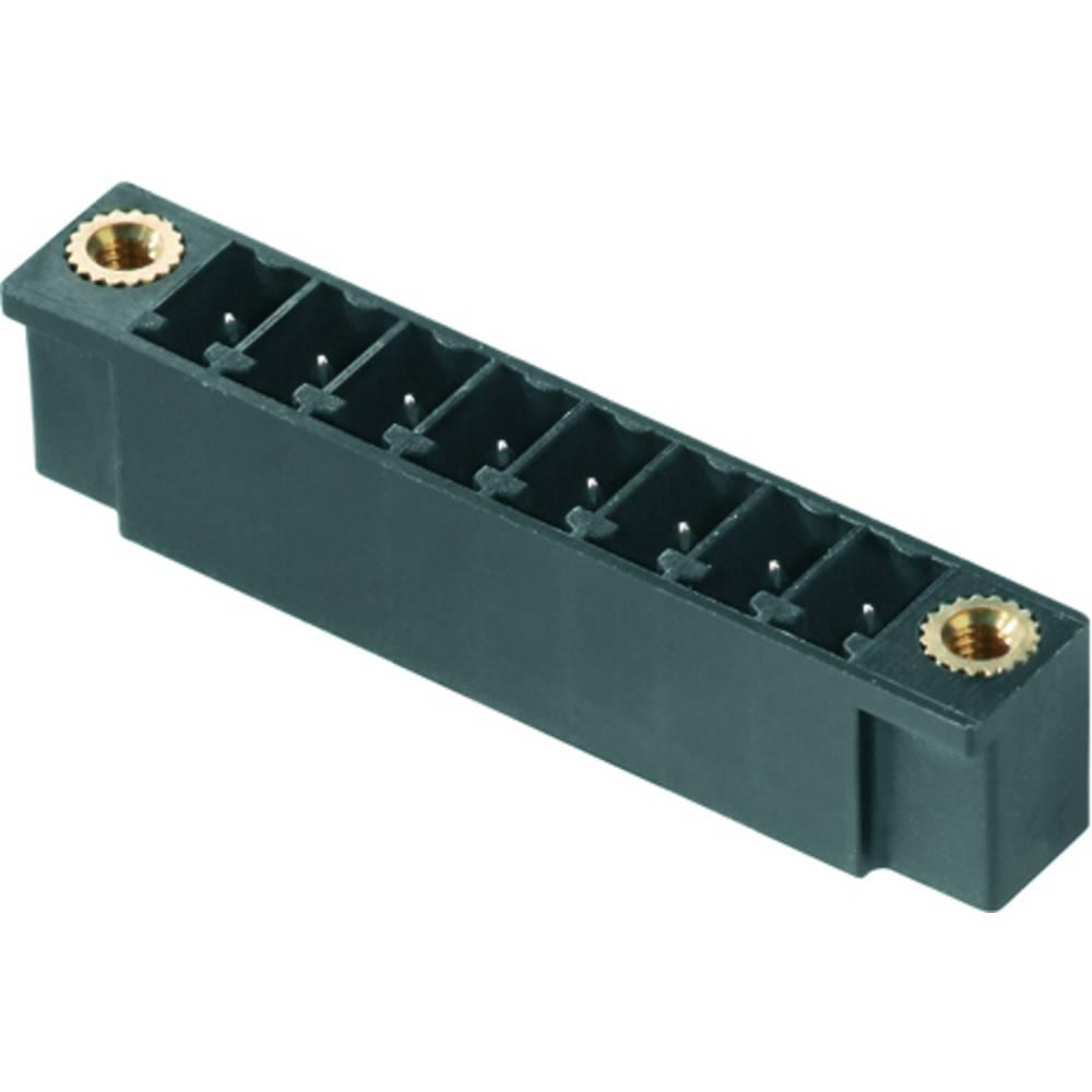 Vtični konektor za tiskana vezja zelene barve Weidmüller 1793840000 vsebuje: 50 kosov