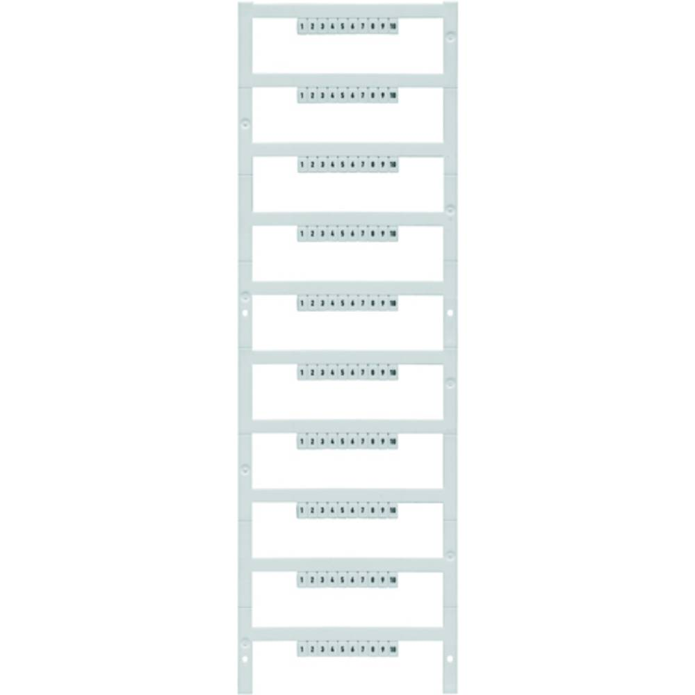 Enhed markører MultiCard DEK 5/3,5 MC FW 51-100 1793940000 Hvid Weidmüller 500 stk