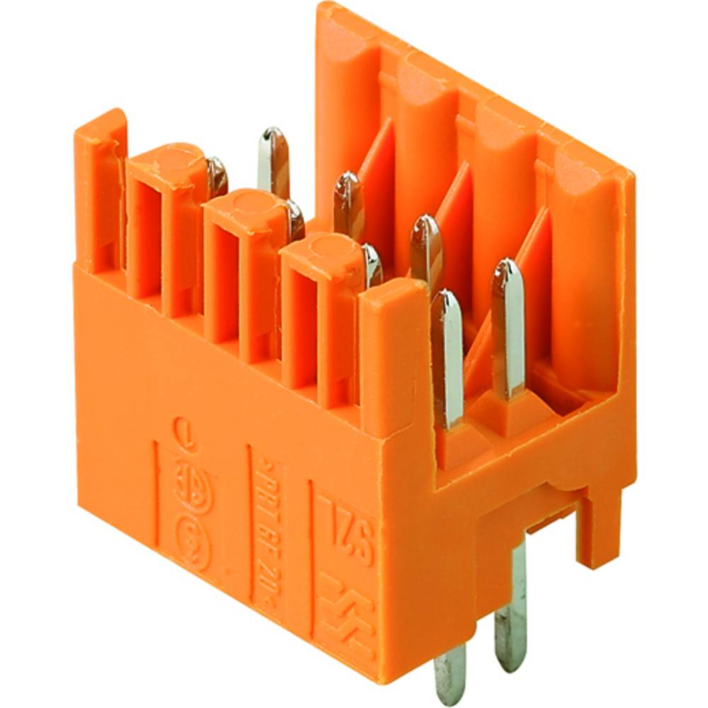 Vtični konektor za tiskana vezja črne barve Weidmüller 1794620000 vsebuje: 42 kosa