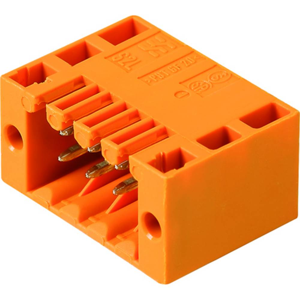 Vtični konektor za tiskana vezja črne barve Weidmüller 1794960000 vsebuje: 36 kosov