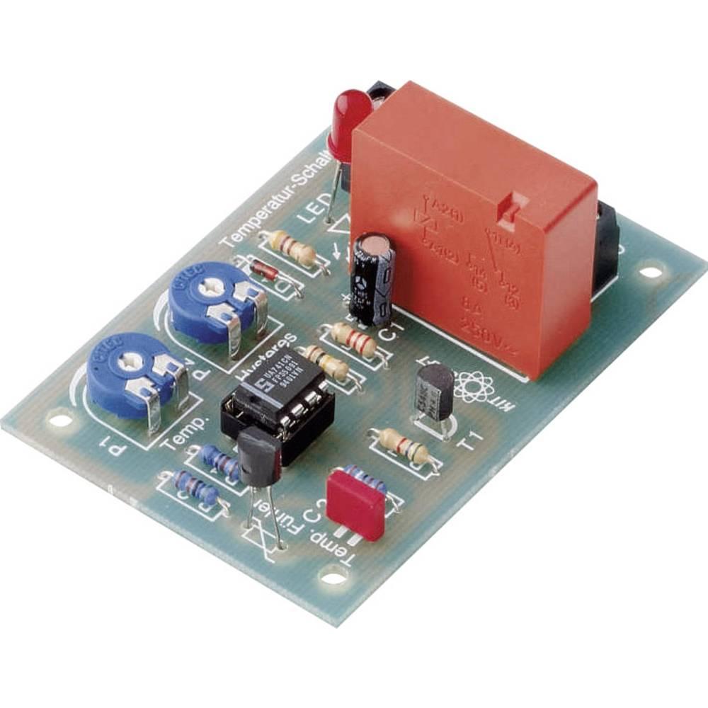 Conrad Temperaturno stikaloKomplet za sestavljanje 12 - 15 V/DC Regulacijsko območje te