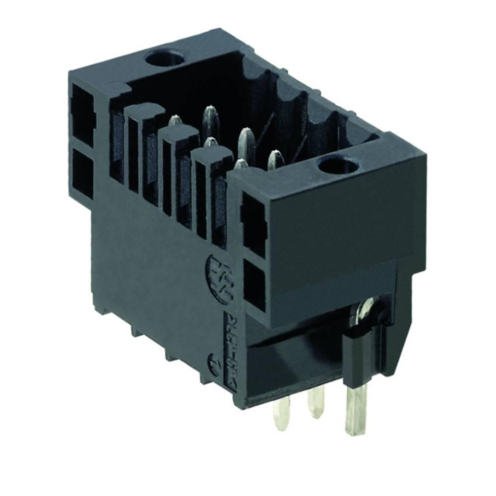Vtični konektor za tiskana vezja črne barve Weidmüller 1795210000 vsebuje: 84 kosi