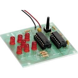 Elektronička kocka s LED diodama Conrad Komplet za sastavljanje 9 V/DC