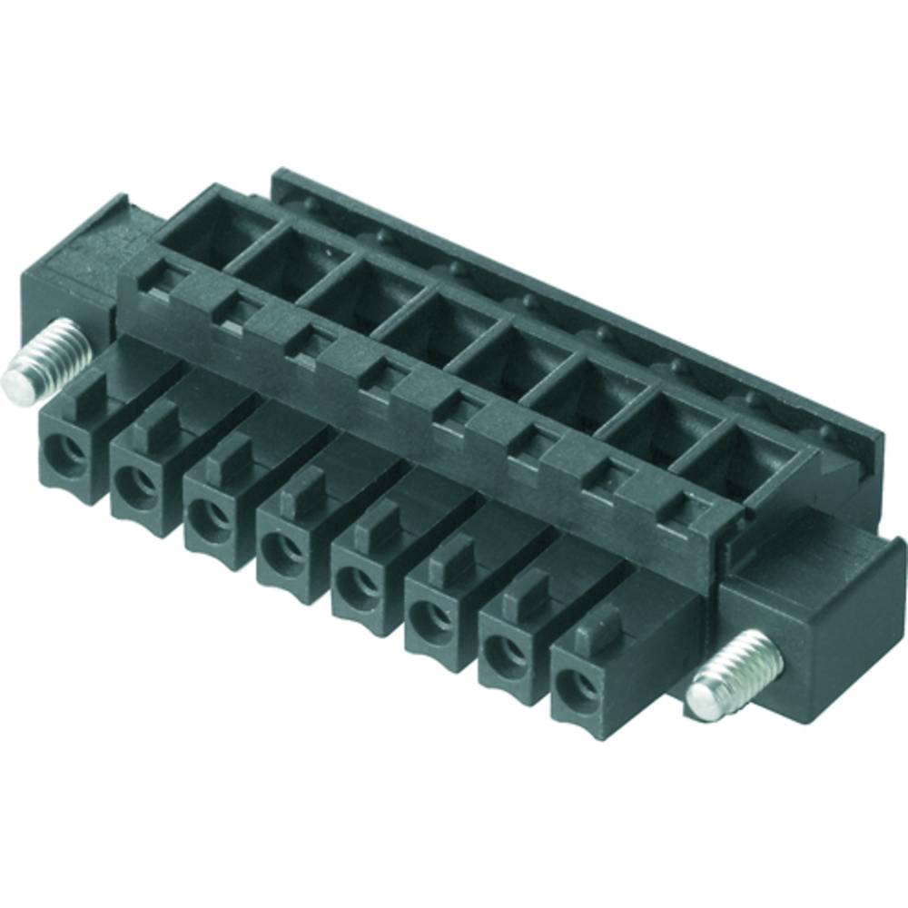 Tilslutningskabinet-kabel BC/SC (value.1360601) Samlet antal poler 10 Weidmüller 1798910000 Rastermål: 3.81 mm 50 stk