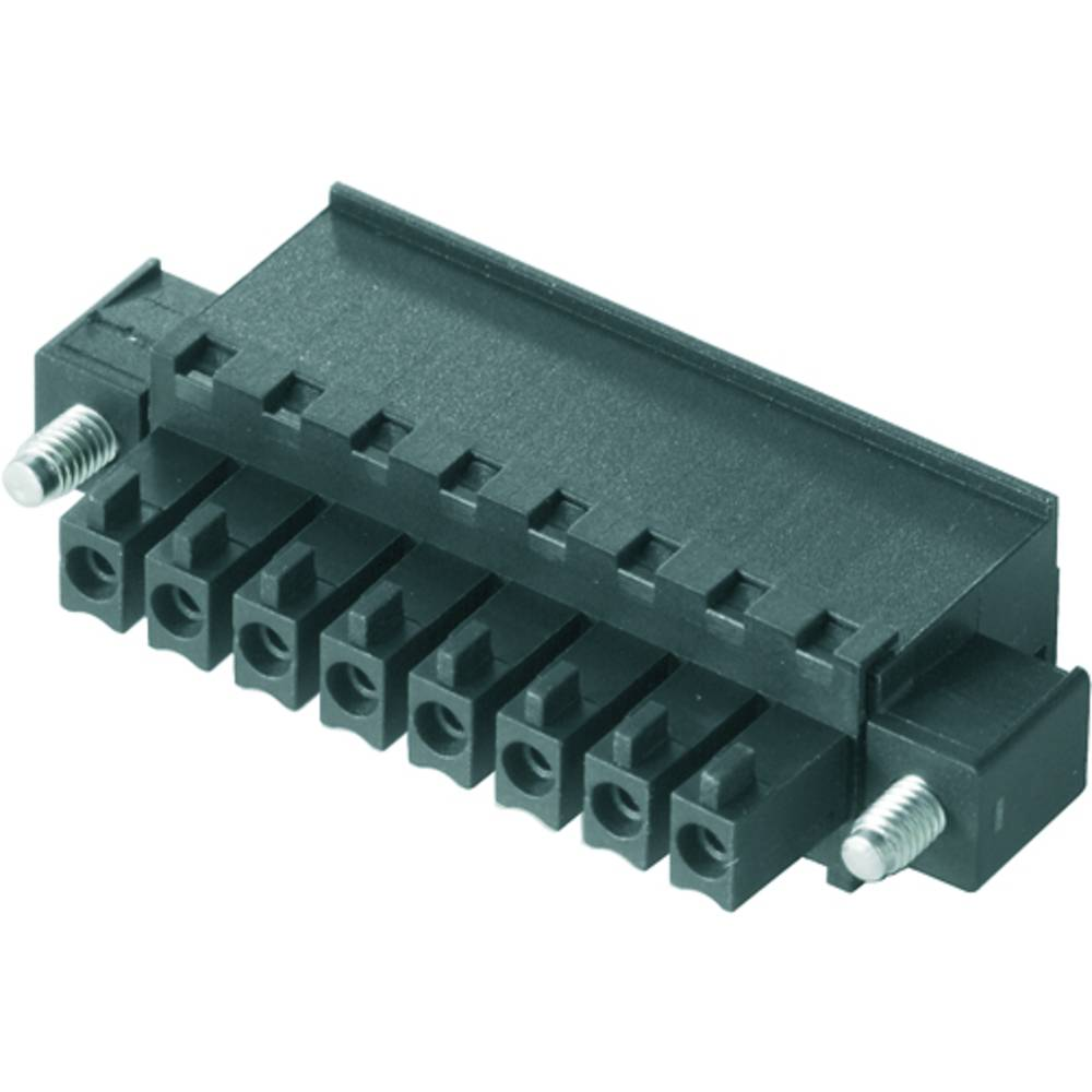 Tilslutningskabinet-kabel BC/SC (value.1360601) Samlet antal poler 6 Weidmüller 1799130000 Rastermål: 3.81 mm 50 stk