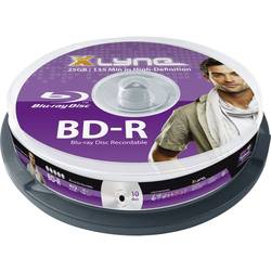 Prazni Blu-ray mediji Xlyne 8010000, 10 komada, 25 GB