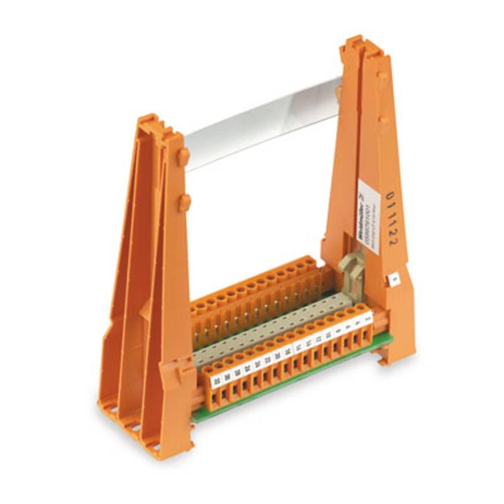 Vtično držalo za kartice (D x Š x V) 50.8 x 131 x 144 mm Weidmüller SKH D32 LP 5/16 RH2 1 kos