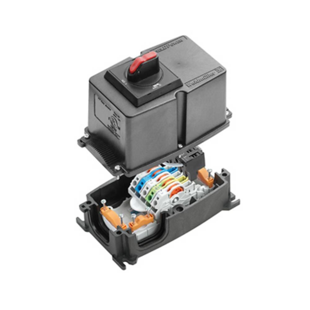 Razdelilna škatla , prilagodljiva: 0.5-6 mm toga: 0.5-6 mm Weidmüller FP BOX ON/OFF 1 kos črna