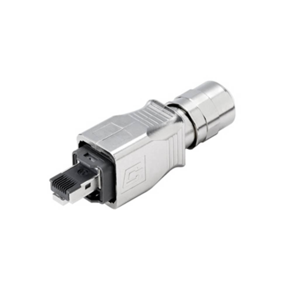 Sensor-/Aktor-datastikforbinder Stik, lige Weidmüller 1012170000 IE-PS-V14M-RJ45-FH-P 10 stk
