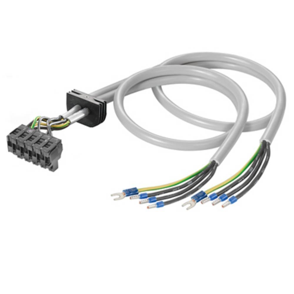 Kabel Weidmüller FPL 4G2.5/PD/F/3+3 bela 1 kos