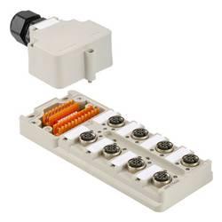 Senzorski/aktivatorski pasivni razdjelnik SAI-8-M-4P M12 DIP Weidmüller sadržaj: 1 komad