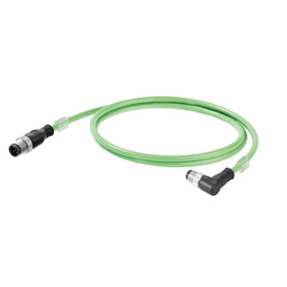 Sensor- /aktor- -datastikforbindelse, konfektioneret Weidmüller IE-C5DD4UG0100MCSMCA-E 1 stk