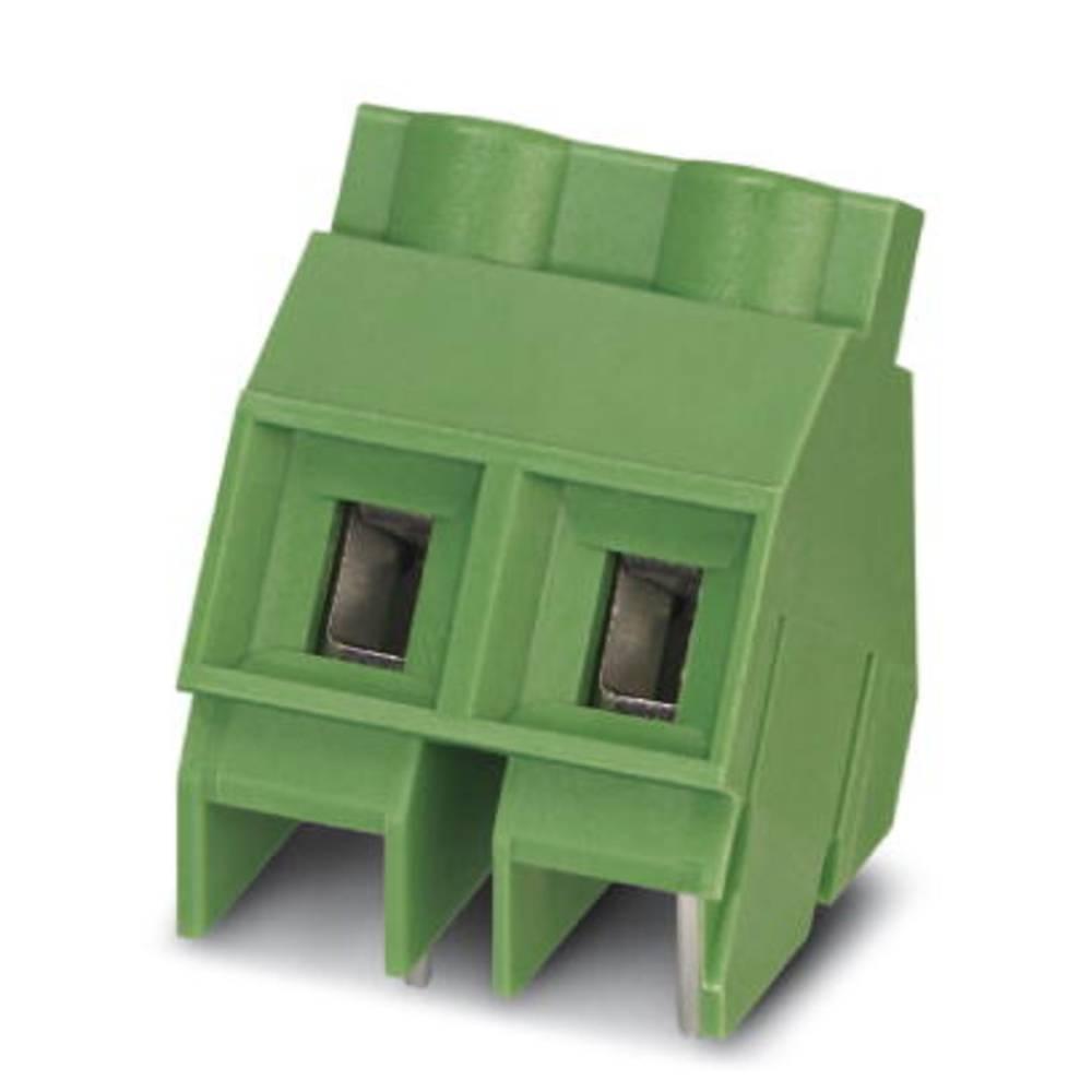 Skrueklemmeblok Phoenix Contact SMKDS 5/ 2-9,5 4.00 mm² Poltal 2 Grøn 50 stk