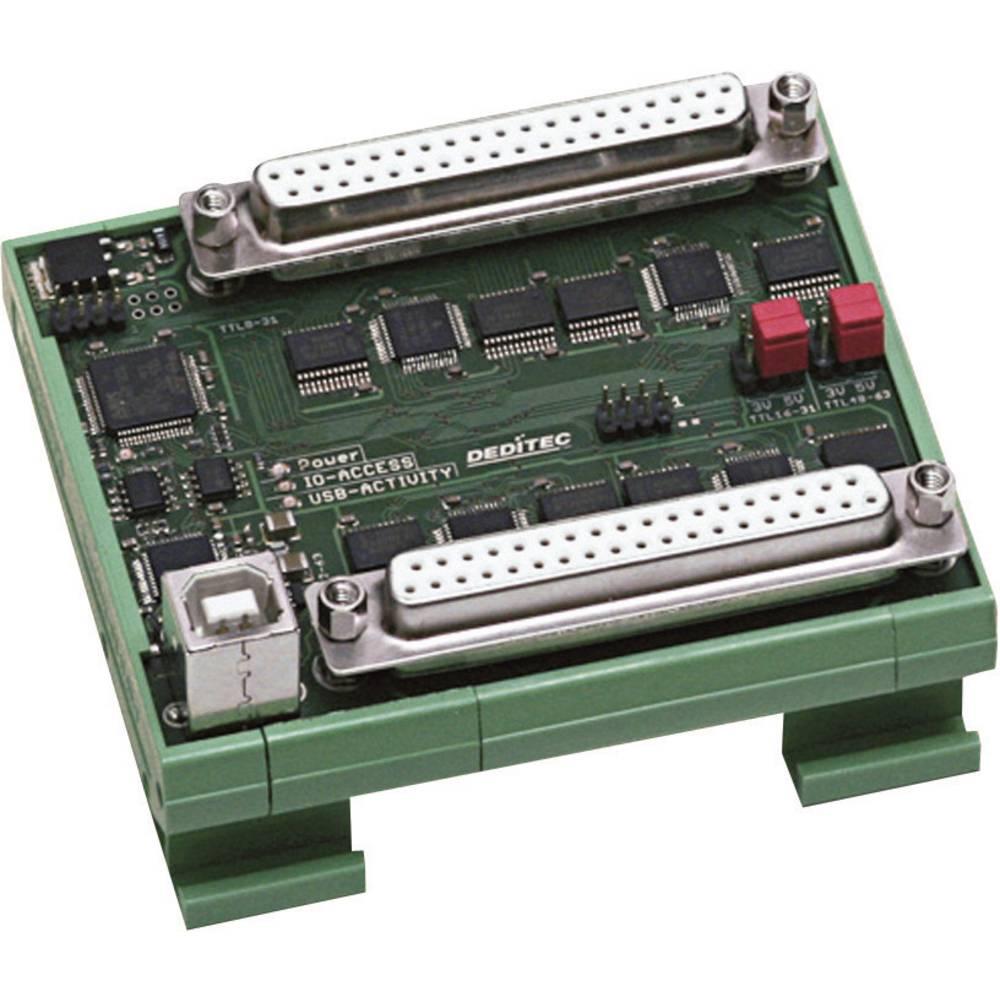 Deditec USB-TTL-64 Digitalno sučelje, USB 2.0, ulazi 64, izlazi 64