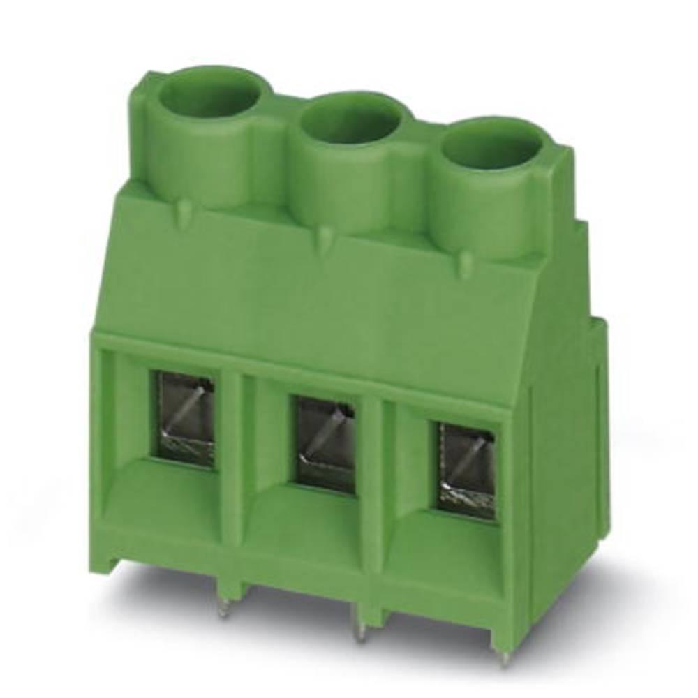 Skrueklemmeblok Phoenix Contact MKDS 5/ 5-7,62 4.00 mm² Poltal 5 Grøn 50 stk