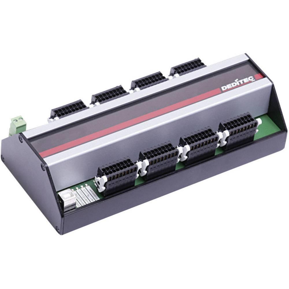 Deditec USB-USB modul za DIN-letvu, USB sučelje, izlazi 64 releja USB-RELAIS-64
