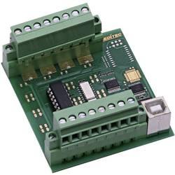 Deditec-USB modul, USB Sučelje, 8 digitalnih ulaza, vijčana montaža USB-OPTOIN-8_B