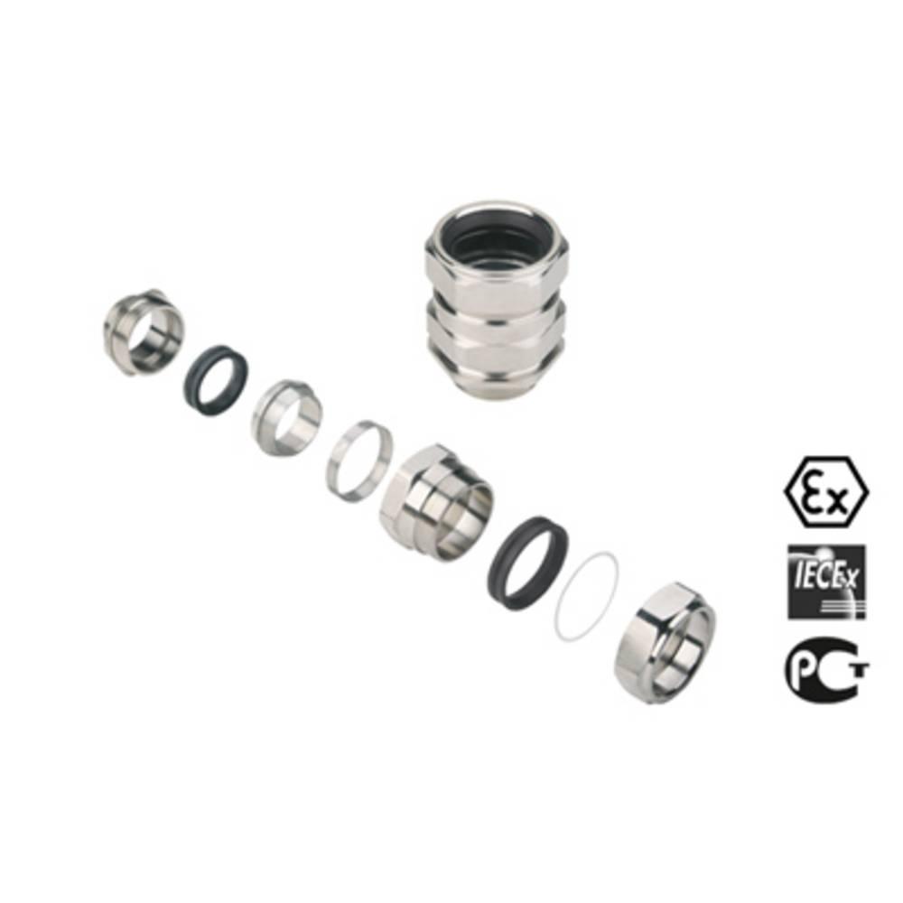 Kabelforskruning Weidmüller KDSW M50 BN O NI 1 G50 M50 Messing Messing 1 stk