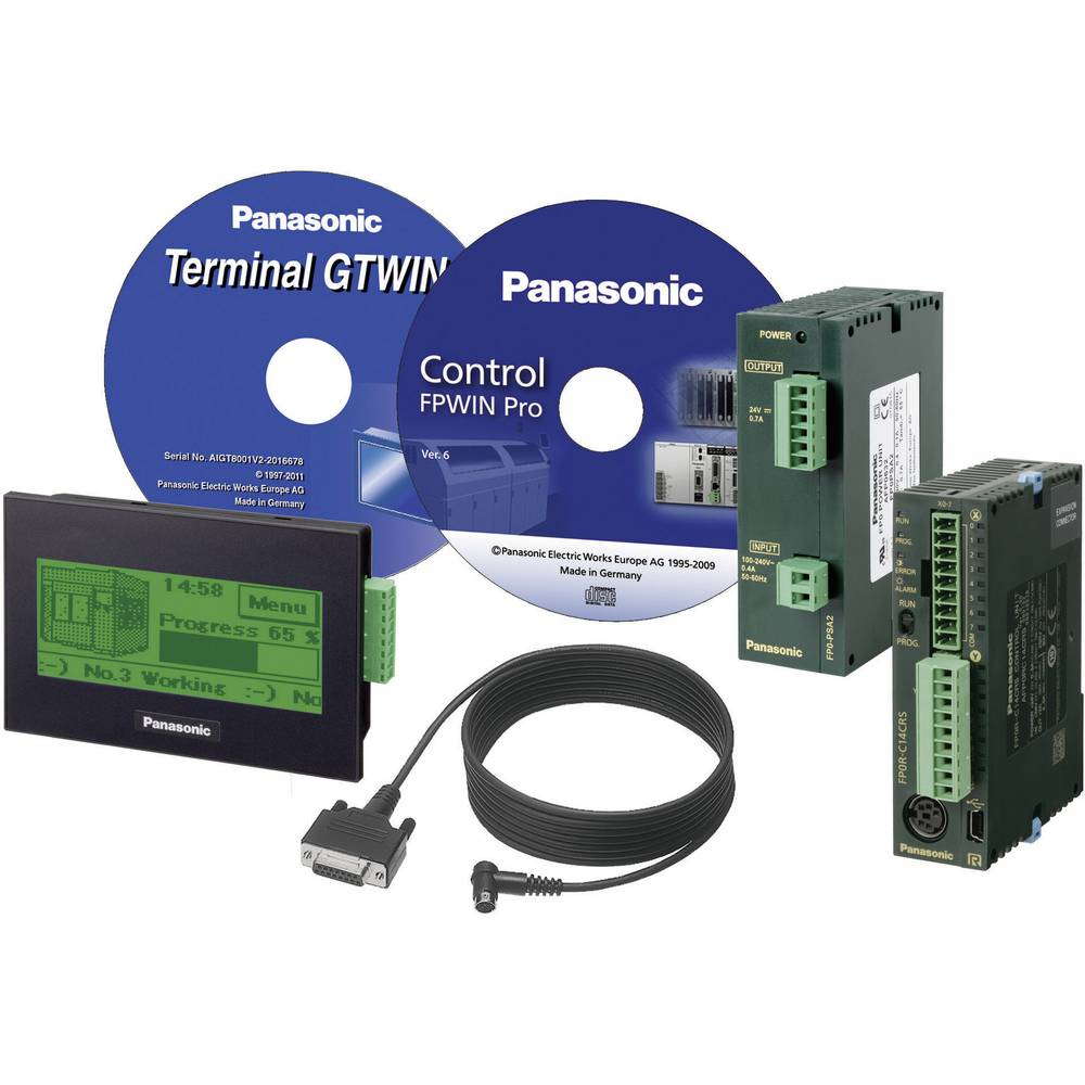 SPS začetni komplet Panasonic KITGT02FP0RC14R KITGT02FP0RC14R 24 V/DC
