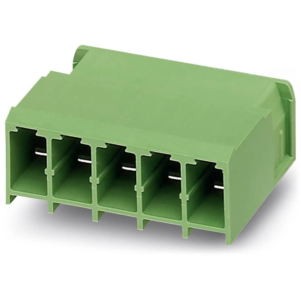 Stiftkabinet-printplade PC (value.1360698) Samlet antal poler 5 Phoenix Contact 1804823 Rastermål: 7.62 mm 50 stk