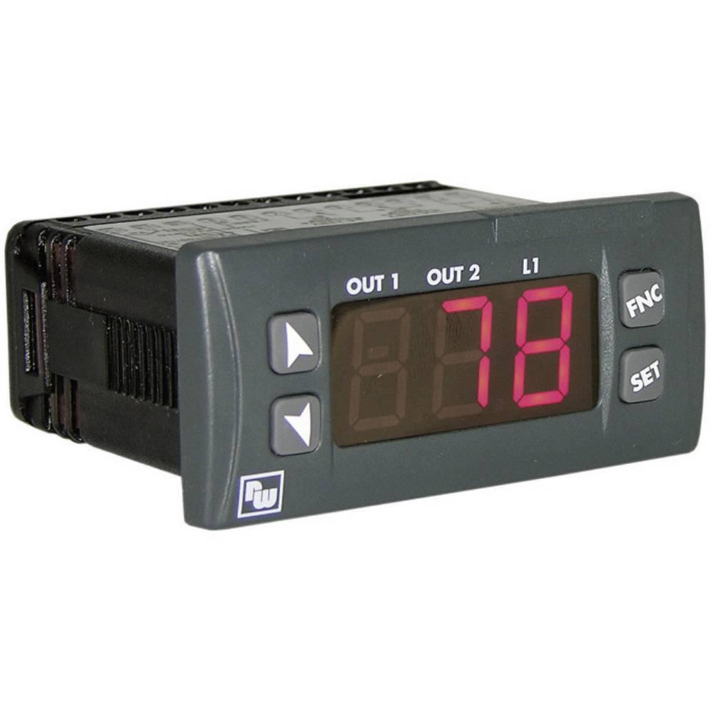 PID termostat Wachendorff UR3274S3 K, S, R, J, Pt100, Pt500, Pt1000, Ni100, PTC1K, NTC10K rele 8 A, rele 5 A, SSR, RS 485 (D x Š