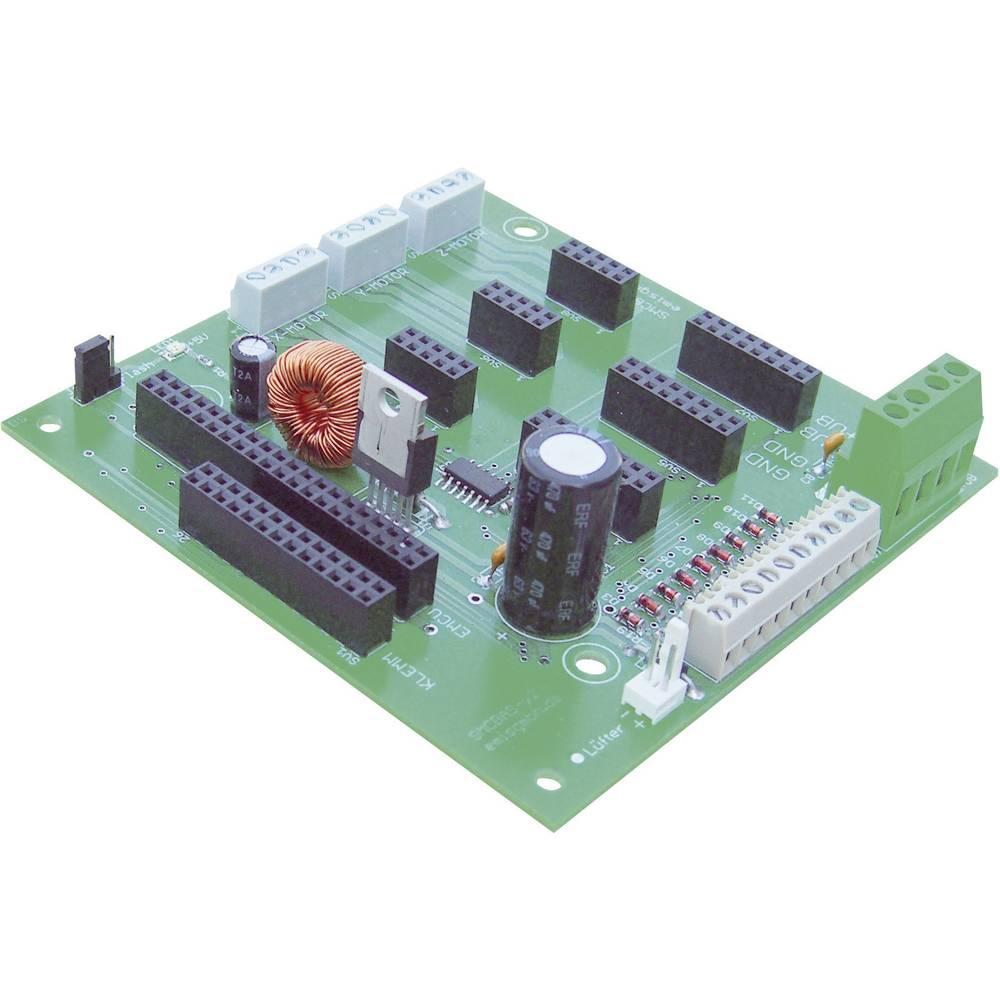 Osnovni modul za koračni motorEmis SMCflex-Basis, 12-36 V/DC, št. osi za krmiljenje: 3
