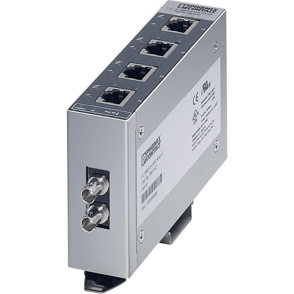 Ethernet stikalo Phoenix Contact Factory Line 2891453, 18-30,2 V/DC, št. Ethernet vrat: 4