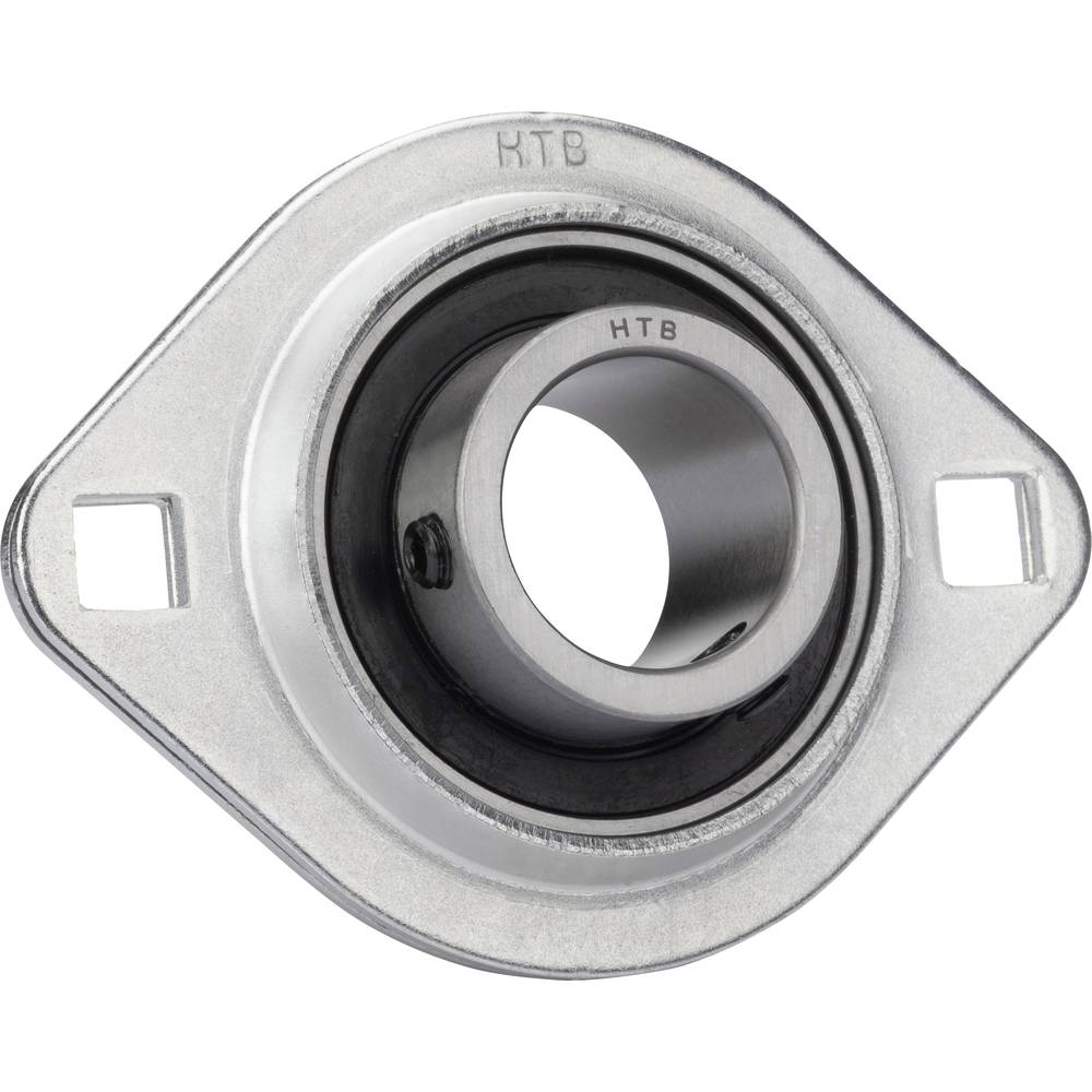 UBC Bearing Prirobnični SBPFL ohišje iz jeklene pločevine, premer vrtanja 20 mm nosilna številka. 10100 N nosilna številka stat.