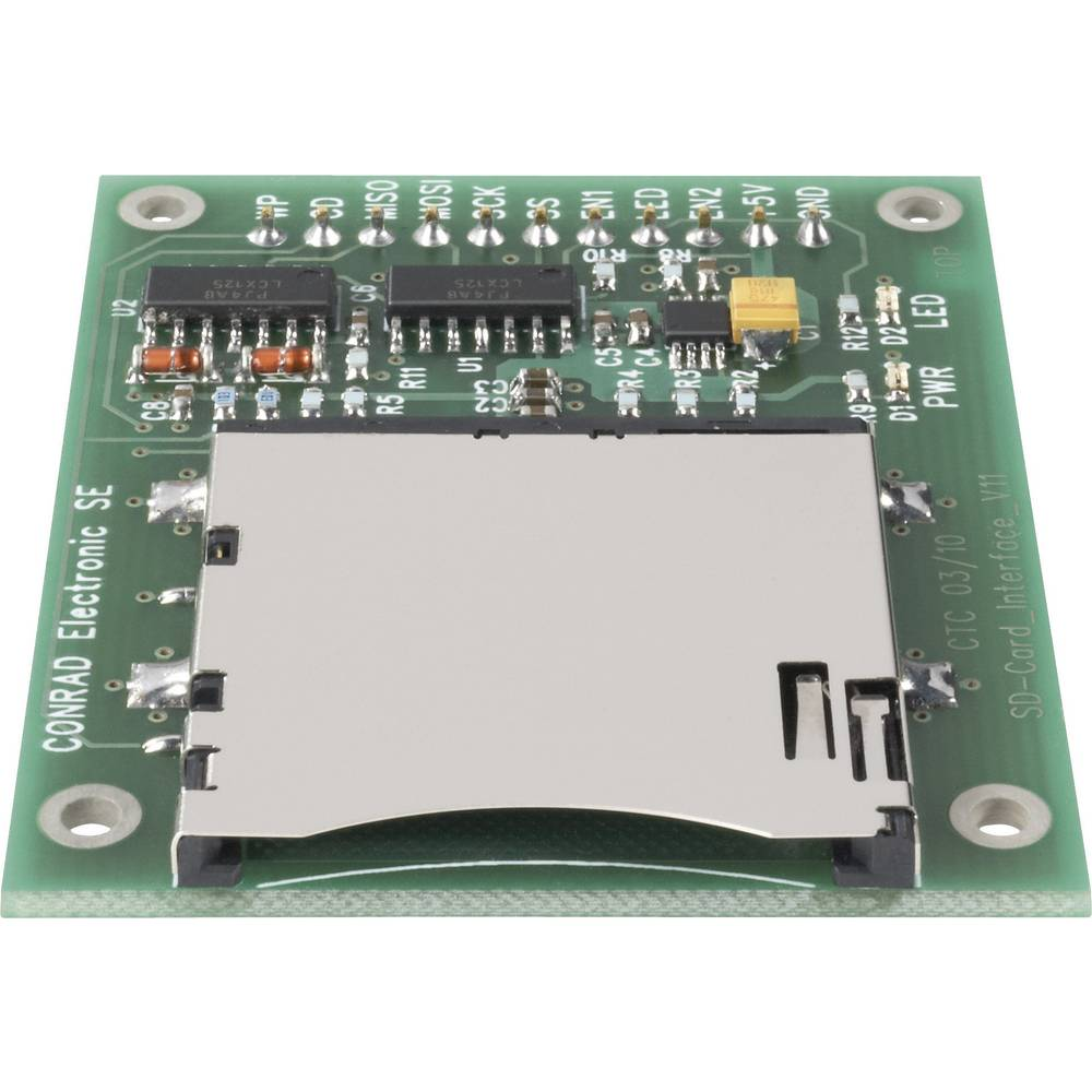 Sučelje za SD-kartico C-Control